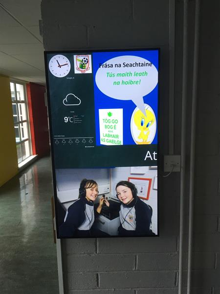 The Digital Information Screen